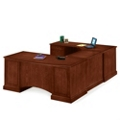 Executive U-Desk with Left Bridge, 15192