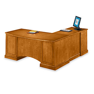 executive cherry l desk with left return 15194 and more