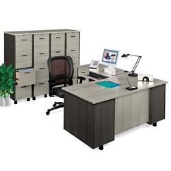 L-Desk and File Set, 15256