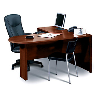 Peninsula L Shape Desk 15309 And More Office Desks