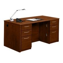 Compact Double Pedestal Desk, 15310