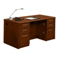 Compact Double Pedestal Desk, 15310