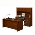 Desk, Credenza and Hutch Combo, 15316