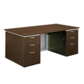 "72"" Wide Rectangular Executive Desk - Fully Assembled, 15470"