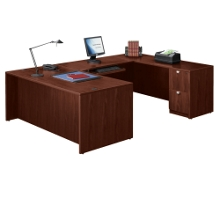 "71"" U-Shaped Desk, 13071"