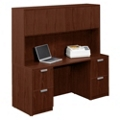 "Contemporary Credenza with Overhead Hutch - 66"" , 15772"