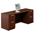 "Contemporary Double Pedestal Credenza - 71"" x 24"", 15775"