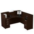 Reception L-Desk with Right Return, 15890