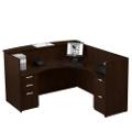 Reception L-Desk with Right Return, 15890