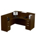 Reception L-Desk with Left Return, 15891