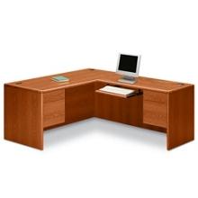 L-Desk with Right Return, 15917