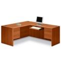 L-Desk with Right Return, 15917