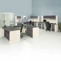 Three Person Work Station Executive Set, 13984