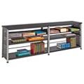 "Four Shelf Open Bookcase - 25""H, 11357"