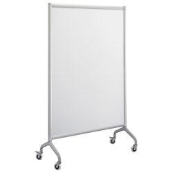 "Rumba Mobile Magnetic Whiteboard - 42""W x 66""H, 43400"