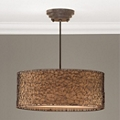 Three Light Drum Pendant, 82586