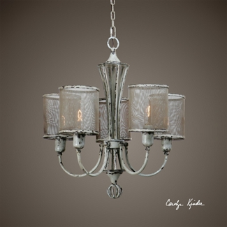 Five Light Vintage Chandelier, 82588