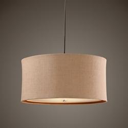 Three Light Drum Pendant, 82597
