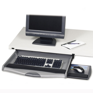 Keyboard Drawer with Slideout Mouse Tray, 91027