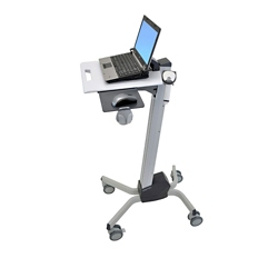 "Adjustable Height Laptop Cart - 20""W, 26317"