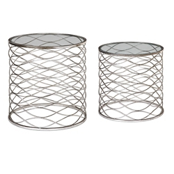 Set of Two Accent Tables , 46245
