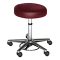 Helix Doctor Stool with Chrome Base, 25050