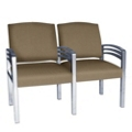 Trados Metal Frame Two Ganged Guest Chairs, 25073
