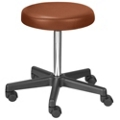Stool with Threaded Stem Height Adjustment, 25081