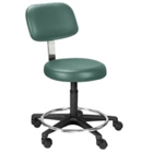 Legacy Height Adjustable Doctors Stool with Foot Ring, 25082