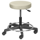 Legacy Height Adjustable Doctors Stool with Foot Ring, 25083