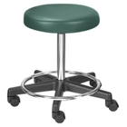 Legacy Stool with Adjustable Height and Foot Ring, 25085