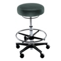 KI Medical Stool with Footrest, 25163