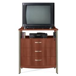 Sonoma Three Drawer Dresser with Media Shelf, 25172
