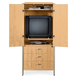 Sonoma TV Cabinet with Hinged Doors, 25173
