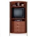 Sonoma TV Cabinet with Pocket Doors, 25174