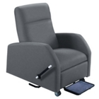 Hannah Bariatric Patient Recliner with Trendelenburg in Vinyl, 25329