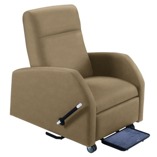 Hannah Bariatric Patient Recliner with Trendelenburg in Fabric, 25264