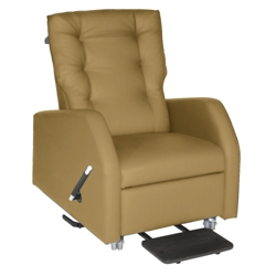 Hannah Patient Recliner with Pillow Back in Vinyl, 25330