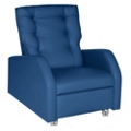 Hannah Bariatric Patient Recliner with Pillow Back in Vinyl, 25331