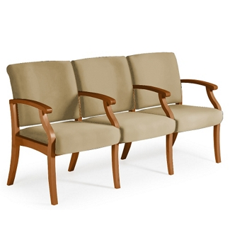 Florin Three-Seat Guest Chair, 25429