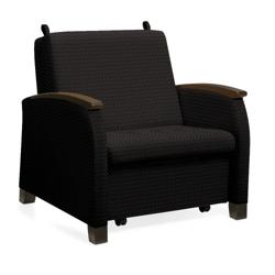 "Primacare 37""W Lounge/Sleeper Chair, 25481"