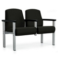 Interlock Mid-Back Two Seater in Vinyl, 25490