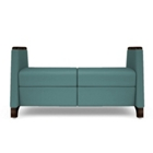 La Z Boy Odeon Loveseat Bench, 25590