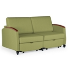 Odeon Double Sleeper Loveseat, 25596