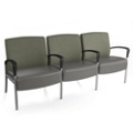 Aloe Three Seater with Center Arms, 25625