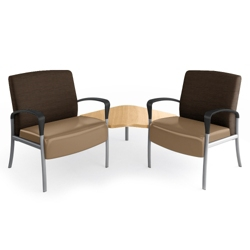 Aloe Two-Seater with Corner Table, 25626
