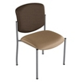 Armless Heavy-Duty Vinyl Stack Chair, 25635