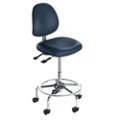 Heavy-Duty Mid-Back Medical Stool, 25640