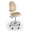 Heavy-Duty High-Back Medical Stool, 25641