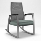 Foster Mesh Back Patient Rocking Chair, CD06382